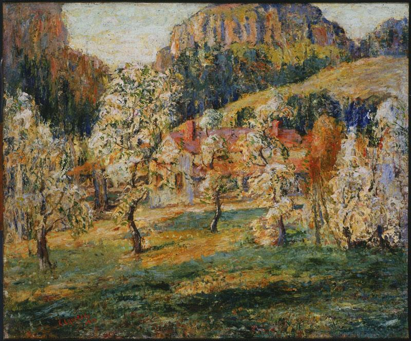 Ernest Lawson (1873-1939)-May in the Mountains