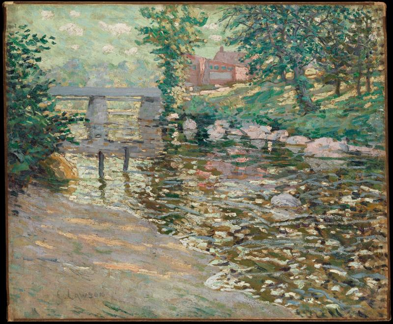 Ernest Lawson--The Bronx River