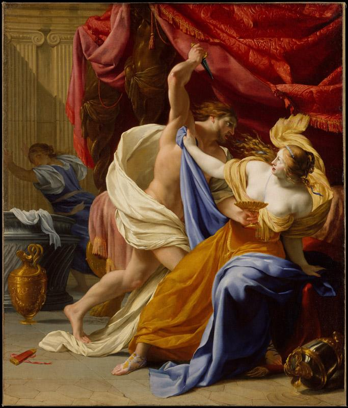 Eustache Le Sueur--The Rape of Tamar