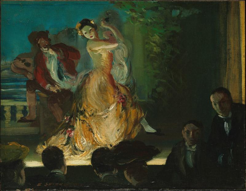 Everett Shinn--Spanish Music Hall