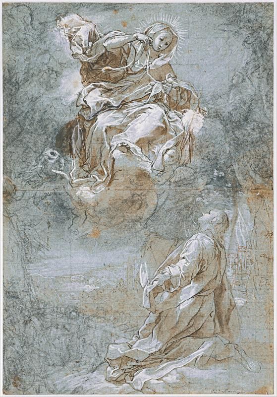 Federico Barocci (1535-1612)-The Miracle of the Sacred Belt