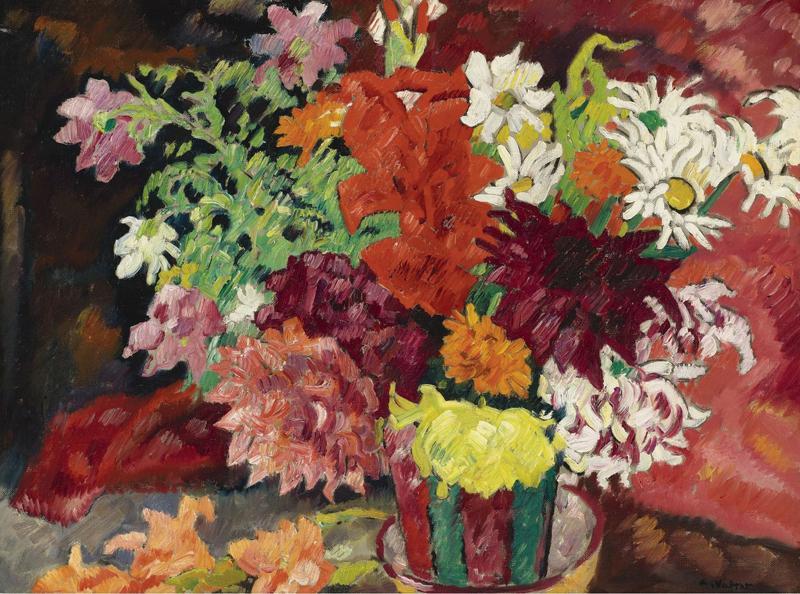 Flowers in Metthey Pot, 1935