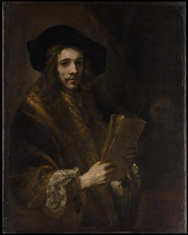 Follower of Rembrandt--Portrait of a Man (The Auctioneer)