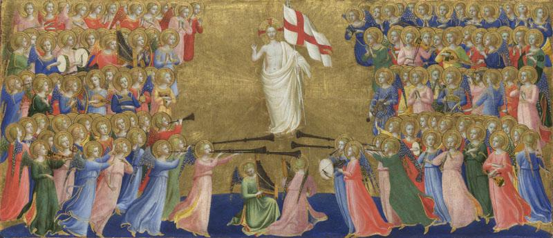 Fra Angelico - Christ Glorified in the Court of Heaven