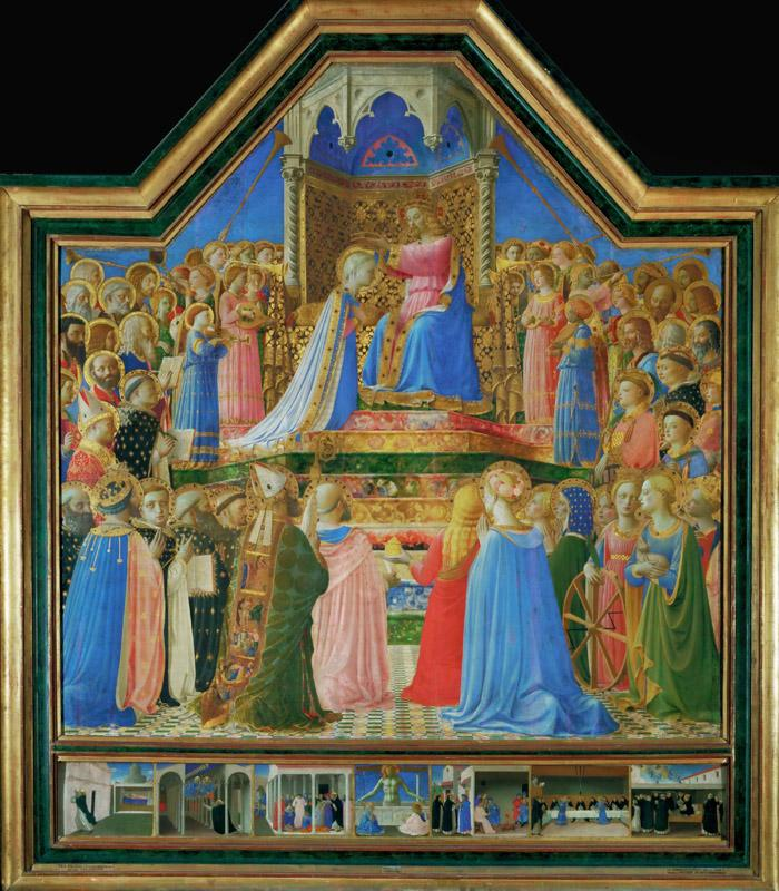Fra Angelico -- Coronation of the Virgin