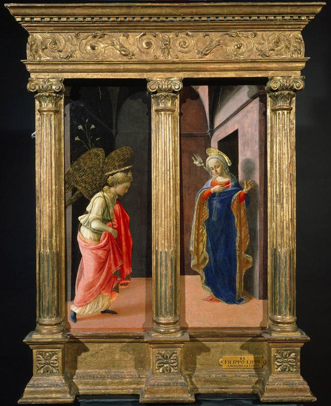 Fra Filippo Lippi - The Annunciation, c.1440