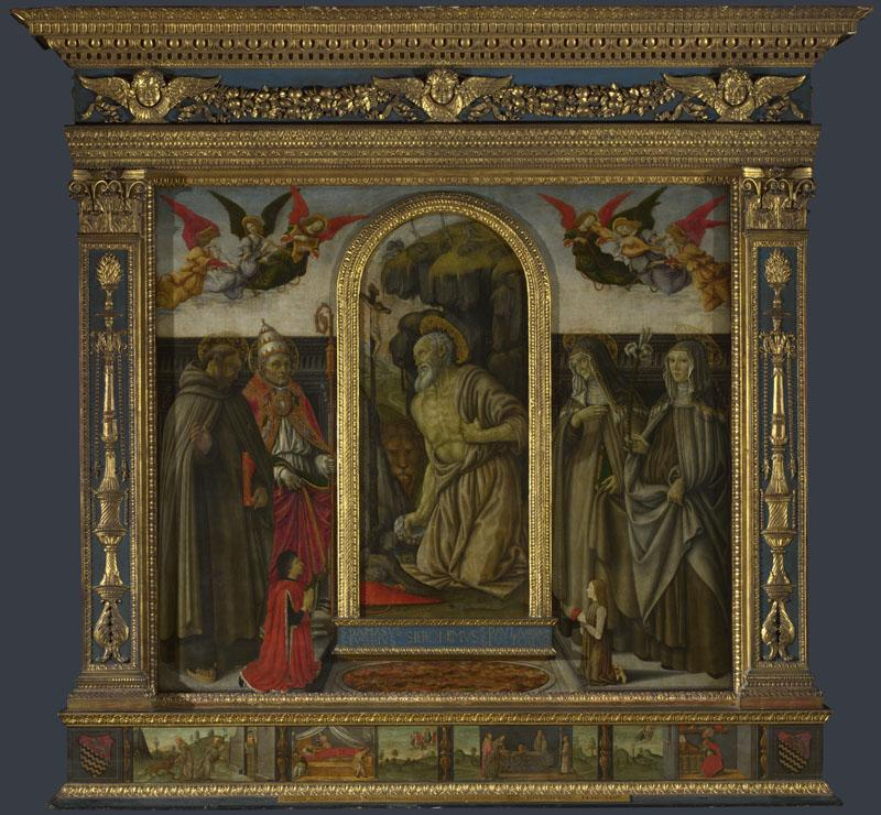 Francesco Botticini - S. Gerolamo Altarpiece