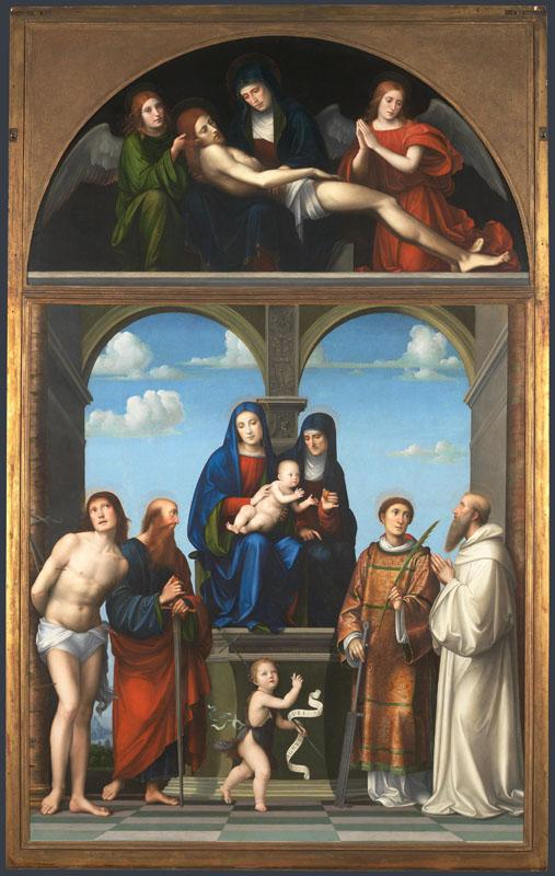 Francesco Francia - The Saint Anne Altarpiece from San Frediano, Lucca
