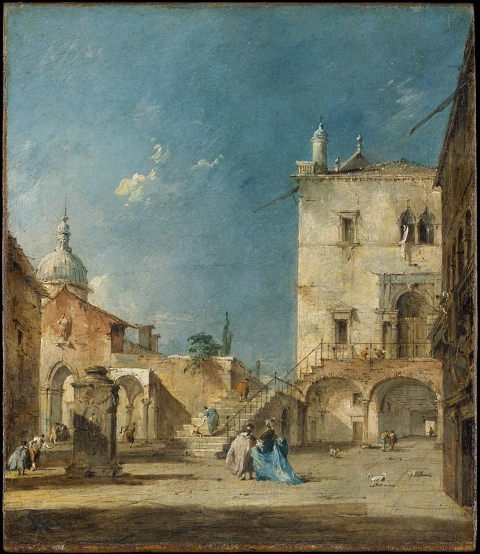 Francesco Guardi--Capriccio