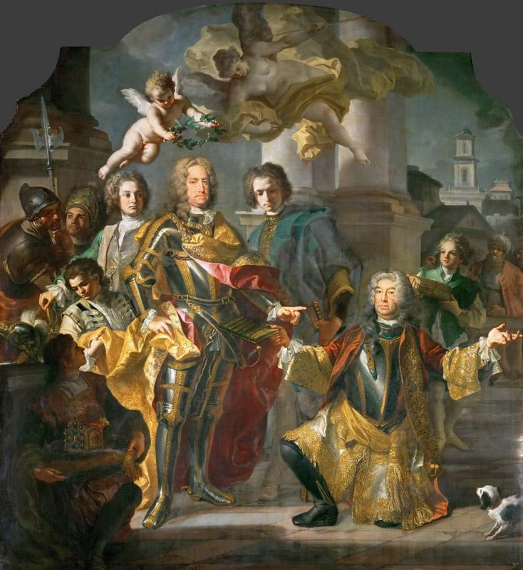 Francesco Solimena and Johann Gottfried Auerbach -- Charles VI