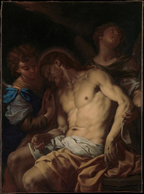 Francesco Trevisani--Dead Christ Supported by Angels
