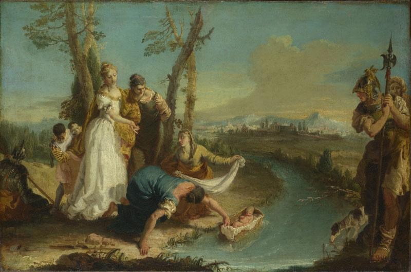 Francesco Zugno - The Finding of Moses