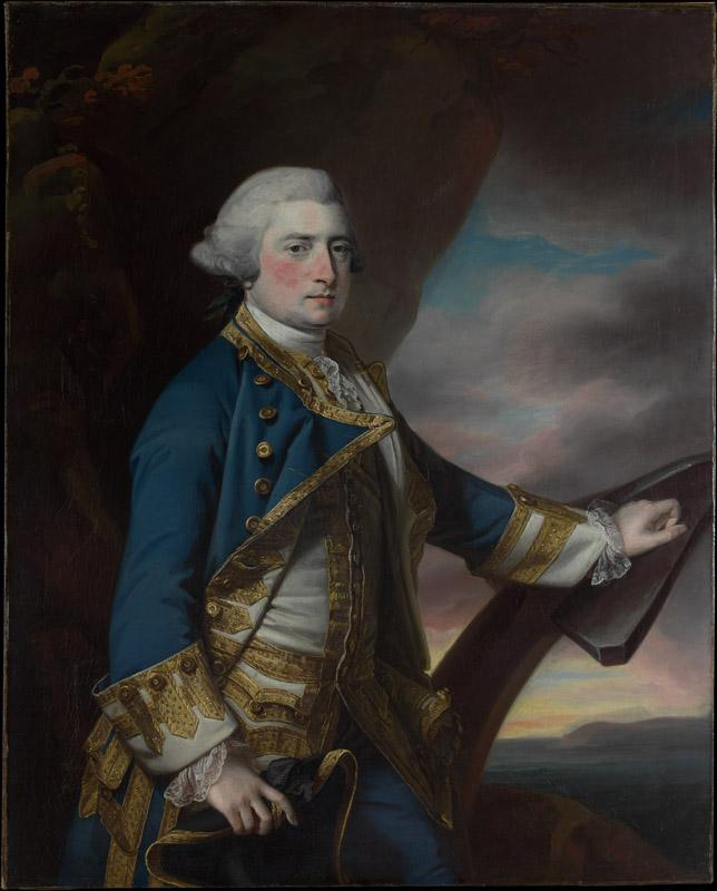 Francis Cotes--Admiral Harry Paulet (1719-1794), Sixth Duke of Bolton