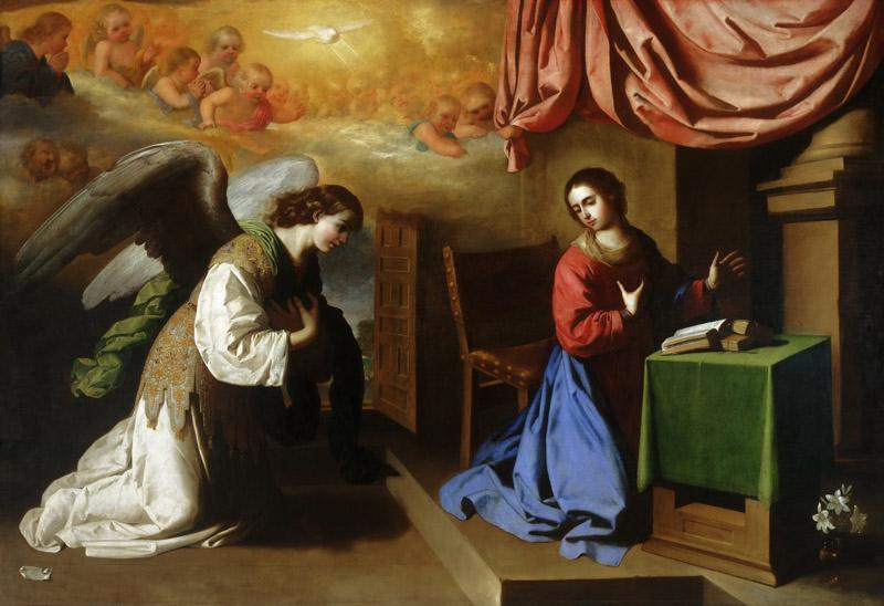 Francisco de Zurbaran, Spanish, 1598-1664 -- The Annunciation