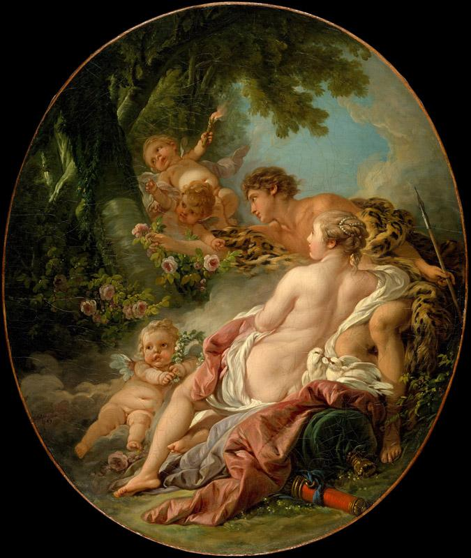 Francois Boucher--Angelica and Medoro