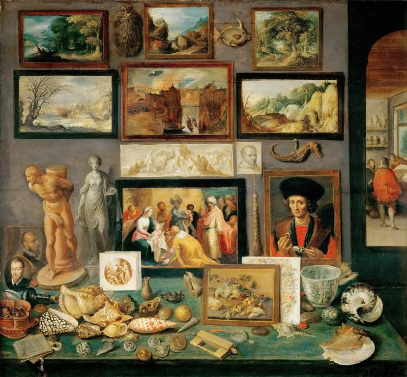 Frans Francken II -- An Art and Curio Collection