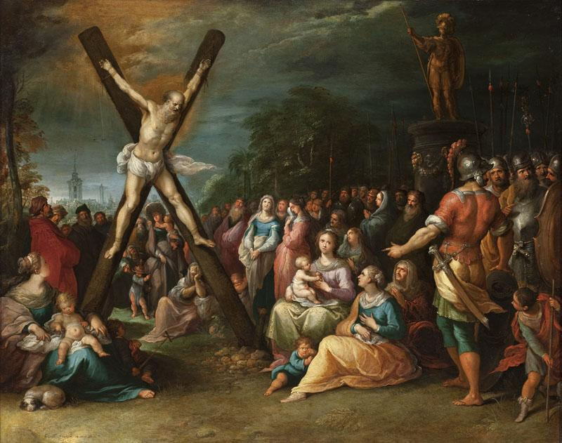 Frans Francken the Younger - The Crucifixion of St