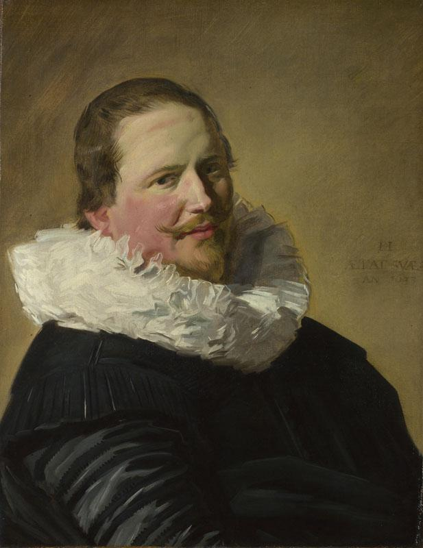 Frans Hals - Portrait of a Man in his Thirties