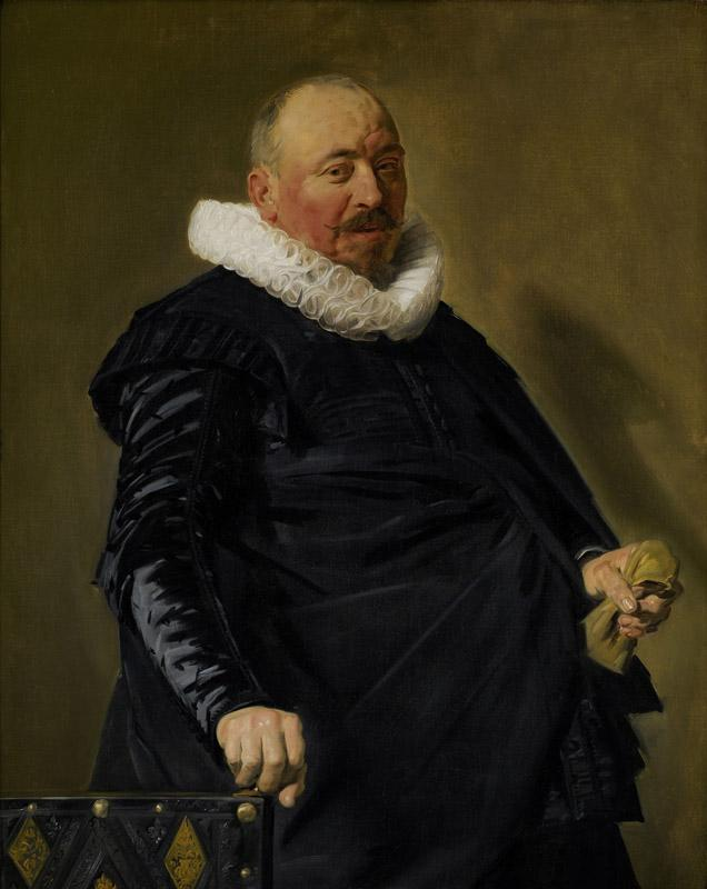 Frans Hals - Portrait of an Elderly Man, c.1627-1630