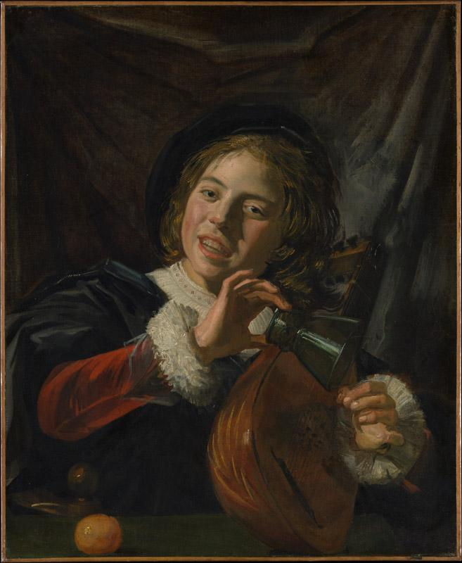 Frans Hals--Boy with a Lute