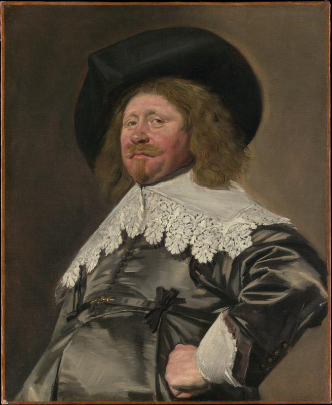 Frans Hals--Portrait of a Man, possibly Nicolaes Pietersz Duyst van Voorhout
