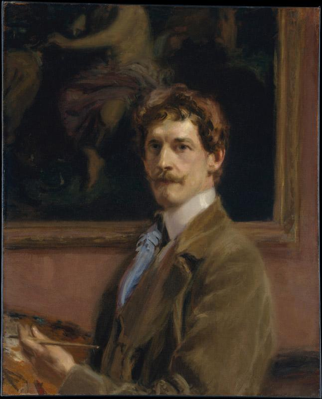Frederick William MacMonnies--Self-portrait
