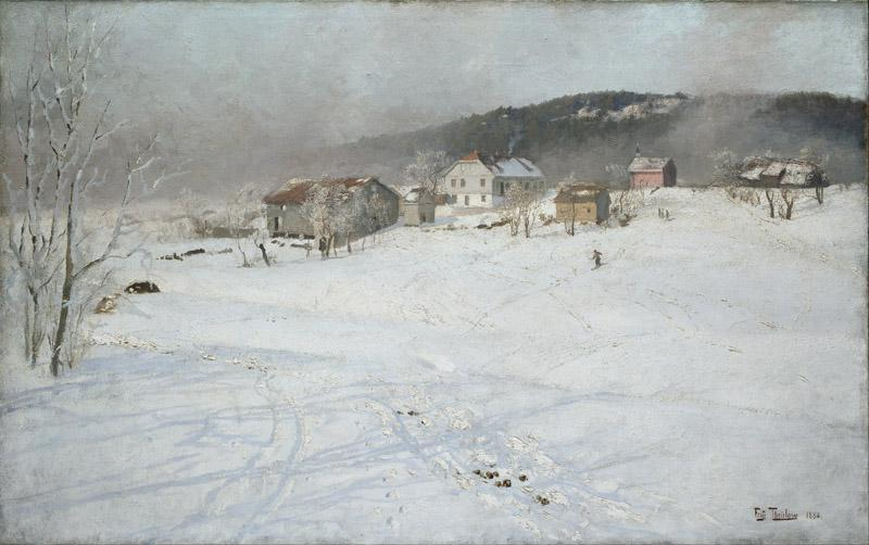 Frits Thaulow - Winter