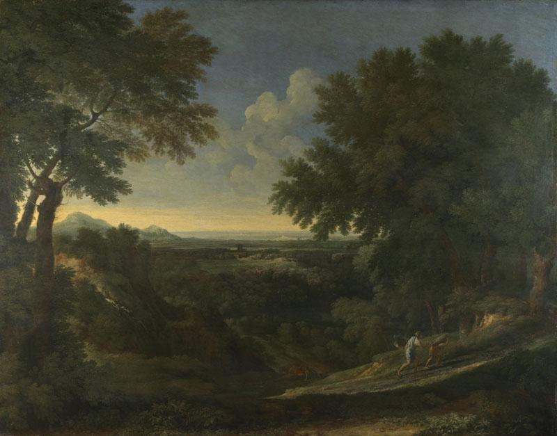 Gaspard Dughet - Landscape with Abraham and Isaac