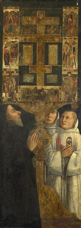 Gentile Bellini - Cardinal Bessarion with the Bessarion Reliquary