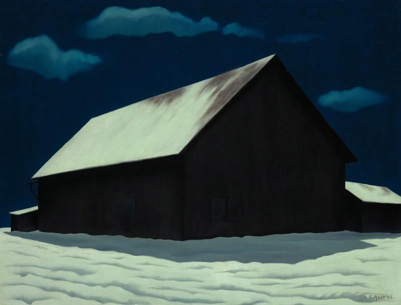 George Copeland Ault - January Full Moon, 1941