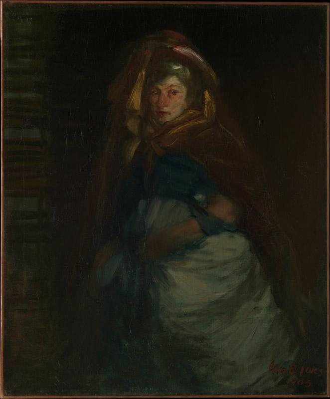 George Luks--The Old Duchess