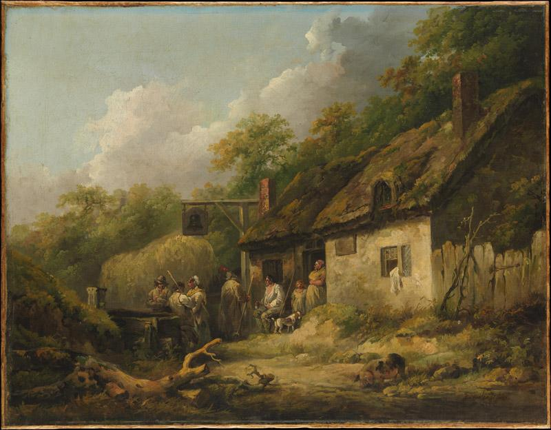 George Morland--The Bell Inn