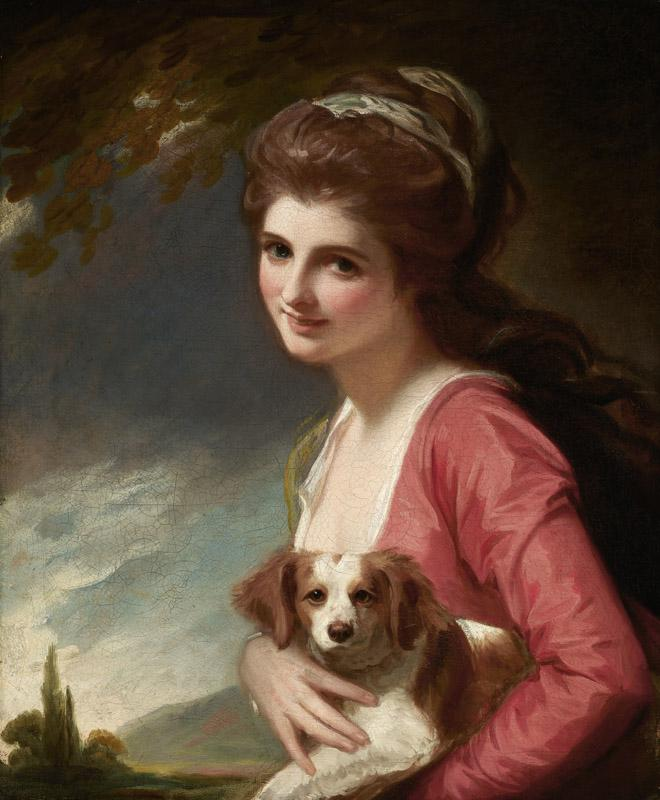 George Romney - Lady Hamilton as Nature 1782