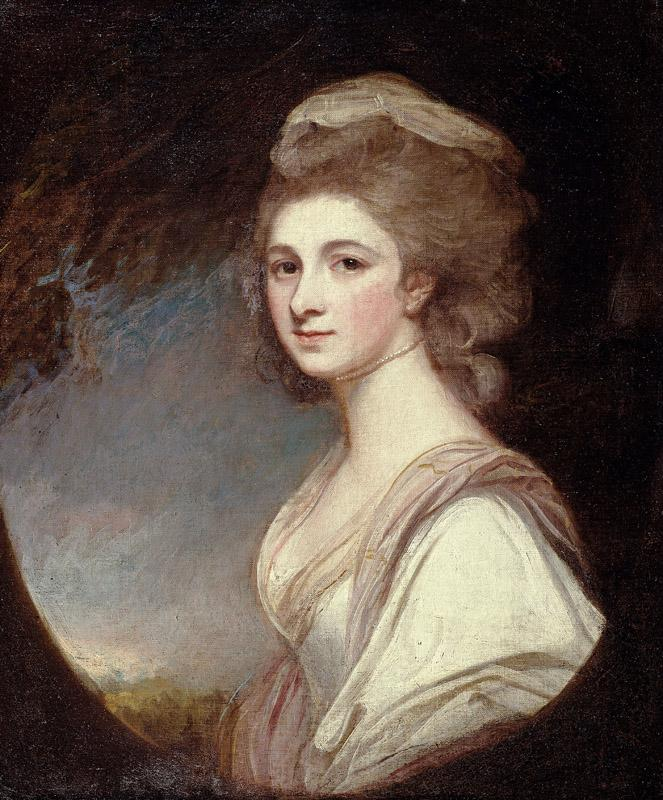 George Romney - Miss Frances Mary Harford, 1780-1783