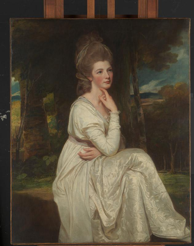 George Romney--Lady Elizabeth Stanley (1753-1797), Countess of Derby