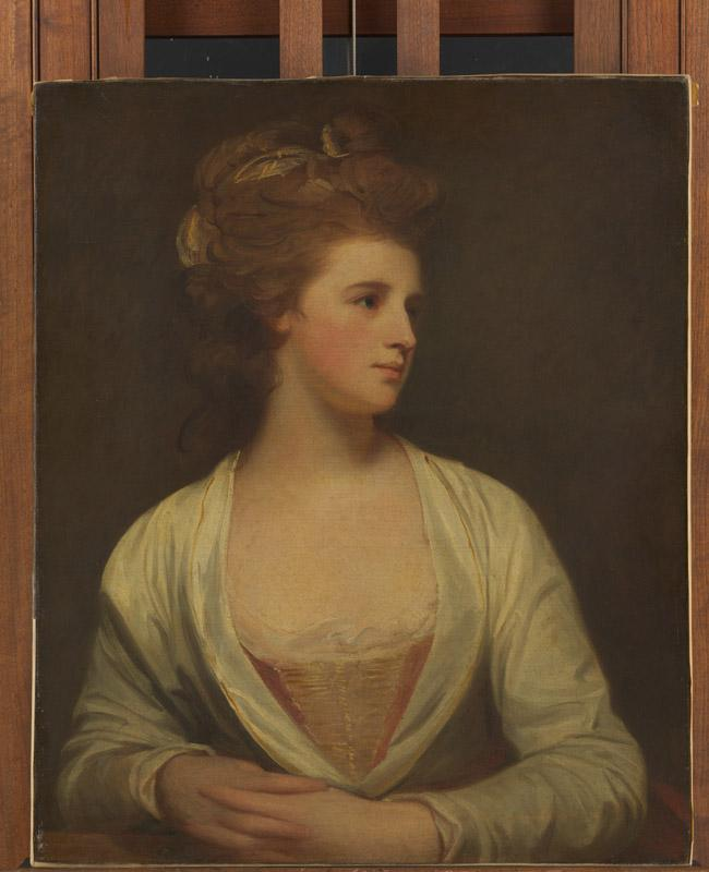 George Romney--Portrait of a Woman, Said to Be Emily Bertie Pott (died 1782)