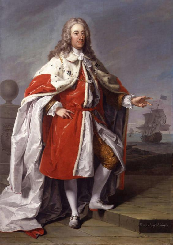 George Byng, 1st Viscount Torrington by Jeremiah Davison