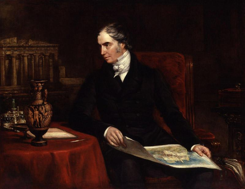 George Hamilton Gordon, 4th Earl of Aberdeen by John Partridge