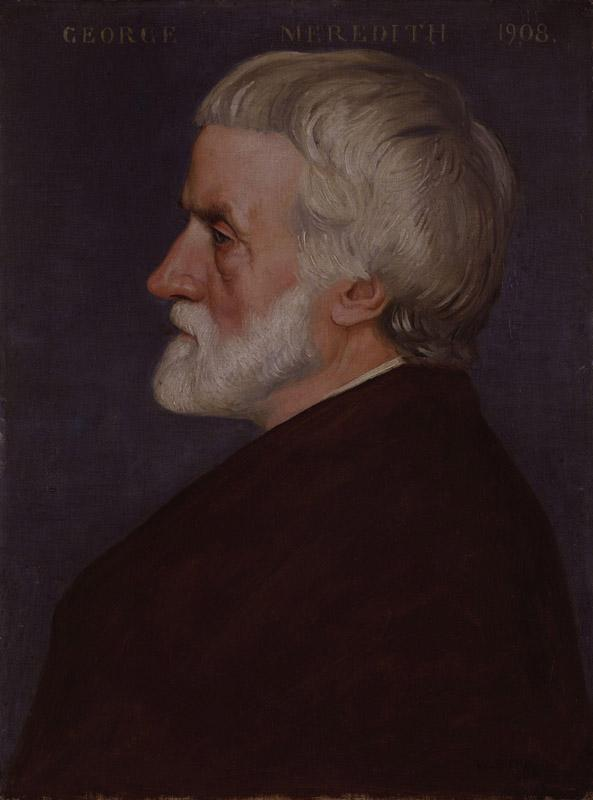 George Meredith by William Strang