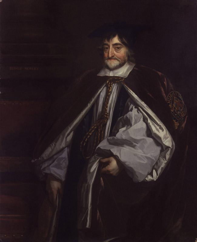 George Morley by Sir Peter Lely