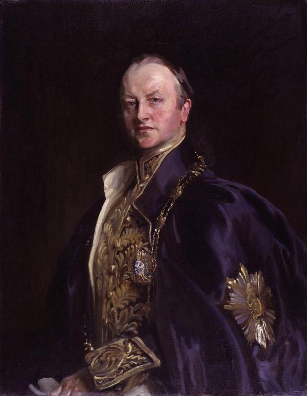 George Nathaniel Curzon Marquess Curzon of Kedleston by John Cooke