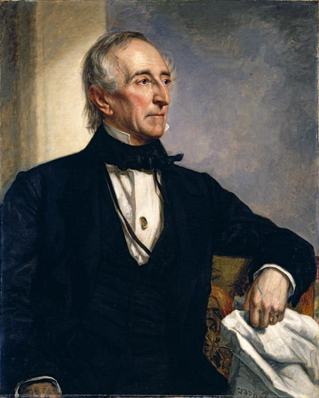 George Peter Alexander Healy - Portrait of John Tyler (1859)