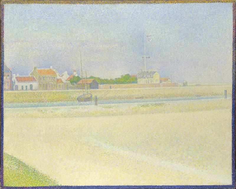 Georges Seurat - The Channel of Gravelines, Grand Fort-Philippe