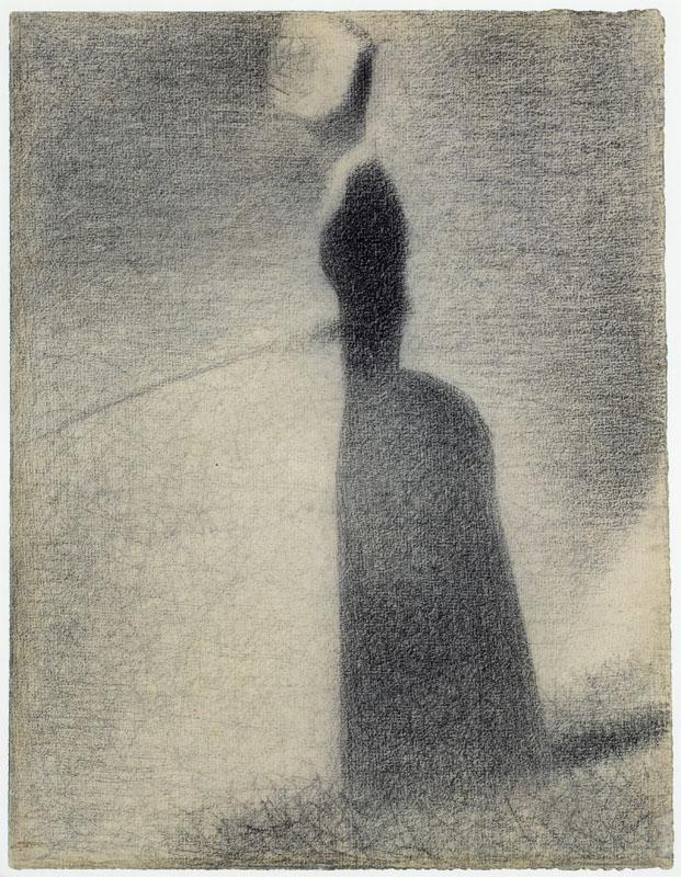 Georges Seurat--A Woman Fishing
