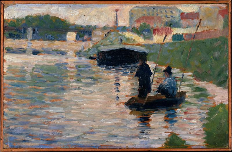 Georges Seurat--View of the Seine