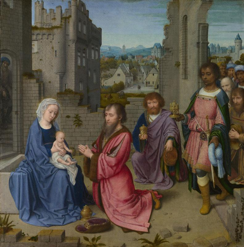 Gerard David - Adoration of the Kings