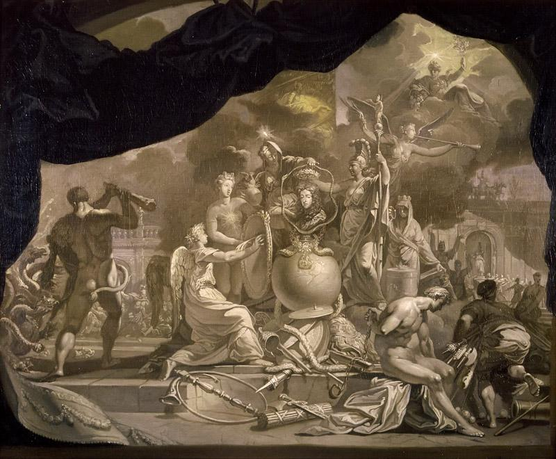 Gerard de Lairesse - The Glorification of Stadholder-King William III
