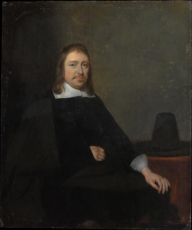 Gerard ter Borch--Portrait of a Seated Man
