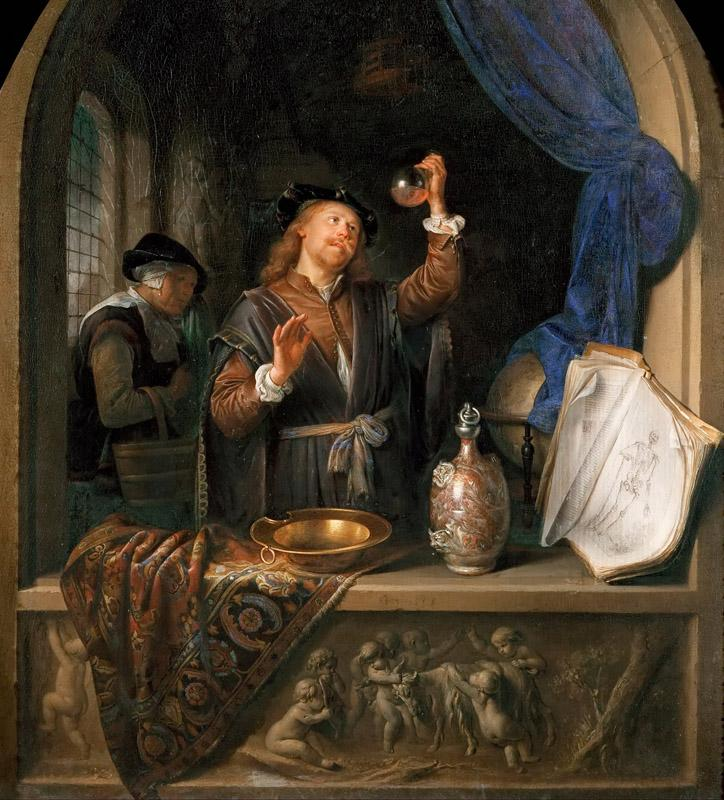 Gerrit Dou -- The Physician