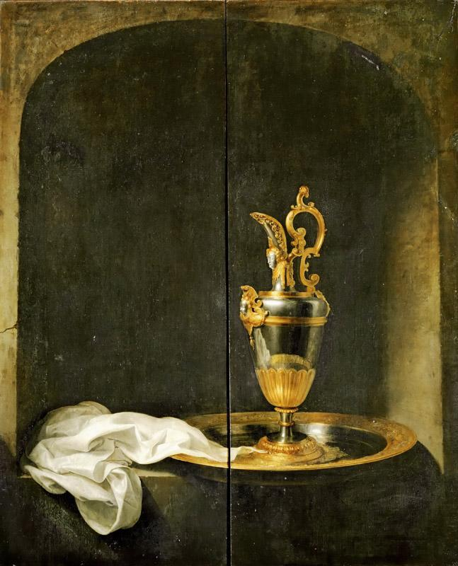 Gerrit Dou -- The Silver Ewer